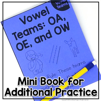 Teaching Phonics: Common Vowel  Teams OA, OE, and OW