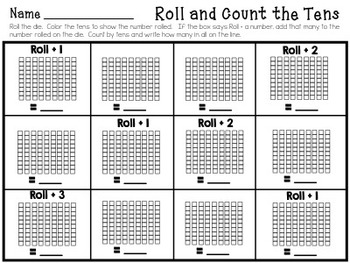 Teaching Place Value Practice Packet