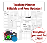 Teaching Planner 17/18: Black and White