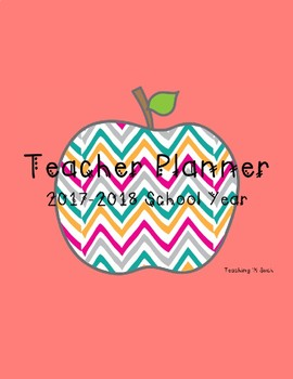 Teaching Planner Colored