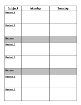 Teaching Planner - Editable!