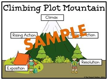 Teaching Plot Activity Bundle