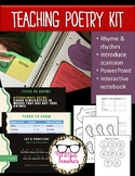 Teaching Poetry Kit- Rhyme, Rhythm, & Scansion