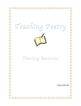 Teaching Poetry Resources