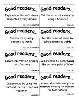 Teaching Point Reading Cards