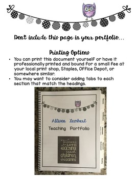 Teaching Portfolio/Resume/Cover Letter/Philosophy of Education