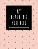 Teaching Portfolio Dividers
