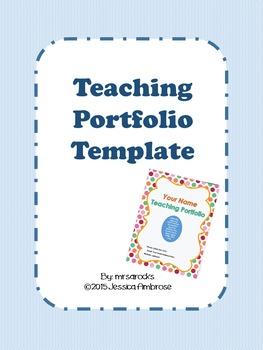 Teaching Portfolio Kit