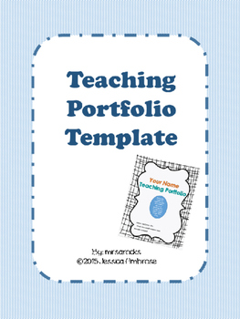Teaching Portfolio Kit