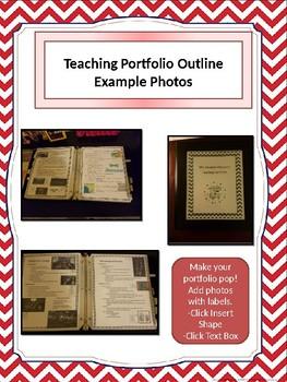 Teaching Portfolio Outline