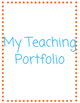 Teaching Portfolio Package