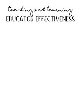Teaching Portfolio Standards Document
