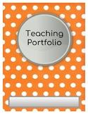 Teaching Portfolio Template