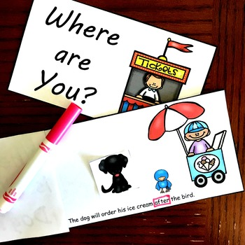 Teaching Prepositions With Interactive Reading Book