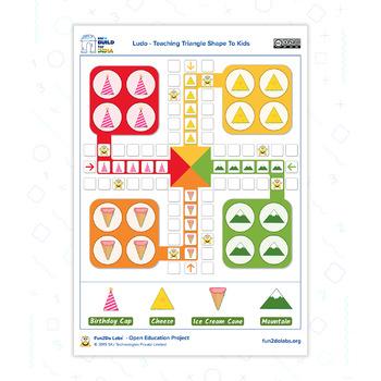 Teaching Preschool Kids Using Ludo
