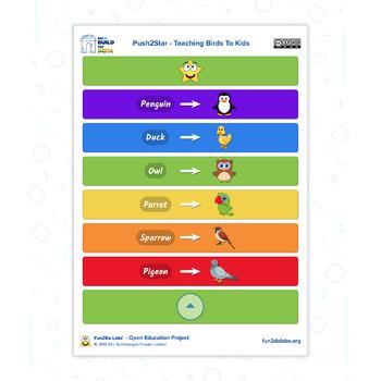 Teaching Preschool Kids Using Push2Star Game