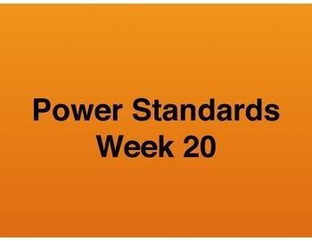 Teaching Presentations Week 20 - Language Arts Power Standards - Grade Six