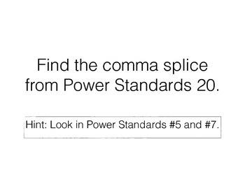 Teaching Presentations Week 21 - Language Arts Power Standards - Grade Six