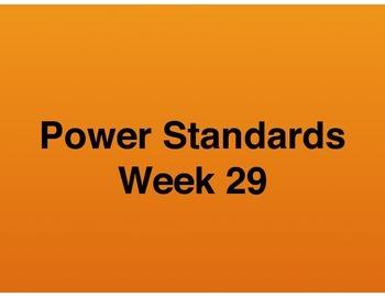 Teaching Presentations Week 29 - Language Arts Power Standards - Grade Six