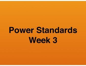 Teaching Presentations Week 3 - Language Arts Power Standards - Grade Six