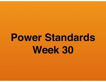 Teaching Presentations Week 30 - Language Arts Power Standards - Grade Six