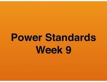 Teaching Presentations Week 9 - Language Arts Power Standards - Grade Six
