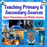 Teaching Primary and Secondary Sources: Upper Elementary a