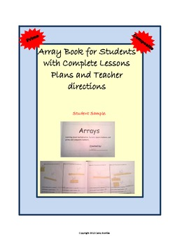 Teaching Prime and Composite with Array Book and Complete Lesson Plans