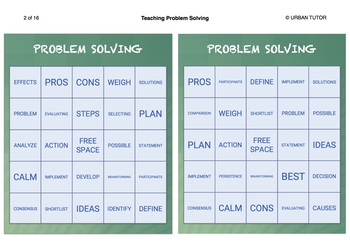 Teaching Problem-Solving to Kids