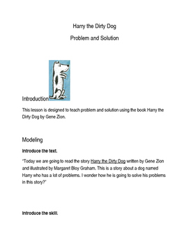 Teaching Problem/Solution and Suffixes with Harry the Dirt