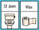 Teaching Procedures {Using the Bathroom} Mini Posters Back to School