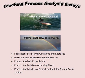 Teaching Process Analysis Essays