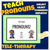 Teaching Pronouns Boom Cards - Speech Language Therapy SLP