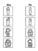 Teaching Pronouns  HE and SHE Activities for all learning styles