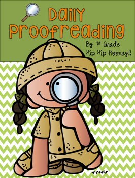 Teaching Proofreading  and Editing to the Primary Child!