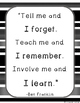 Teaching Quote (Ben Franklin)  *Free*
