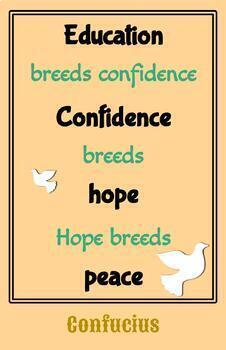 Teaching Quotes: Education Peace 2.0