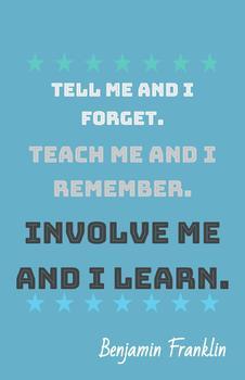 Teaching Quotes: Involve Me