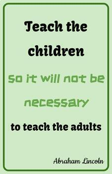 Teaching Quotes: Not Teach Adults 2.0