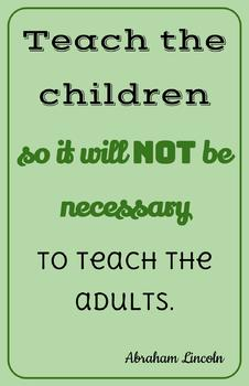 Teaching Quotes: Not To Teach Adults