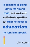 Teaching Quotes: Wrong Road