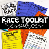 Free RACE Constructed Response Strategy Toolkit with Digital Version