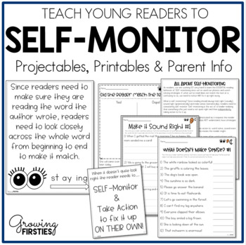 Teaching Readers to Self-Monitor to Look Right Sound Right Make Sense