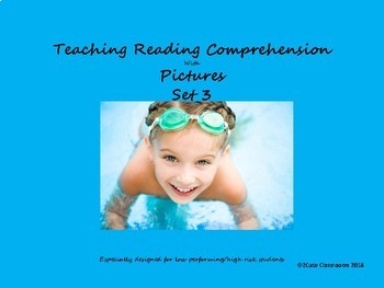 Teaching Reading Comprehension with Pictures #3