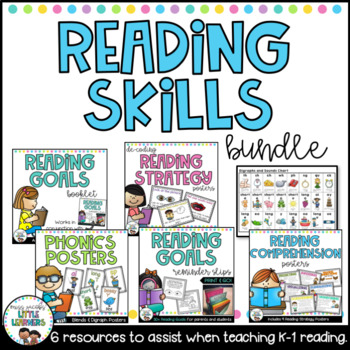 Teaching Reading Skills Bundle {K-2}