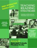 Teaching Reading Strategies (Intervention Program)