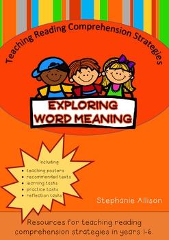 Teaching Reading Strategies - Exploring Word Meaning.