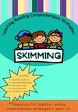 Teaching Reading Strategies - Skimming