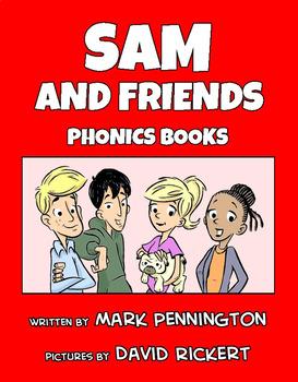 Teaching Reading Strategies and Sam and Friends Phonics Books Bundle