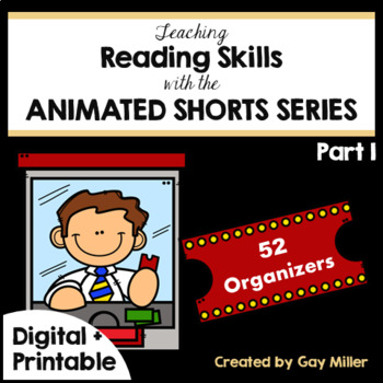 Teaching Reading & Writing Skills with Animated Short Films [Google + Printable]